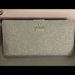 Kate Spade Rose Gold Stacy Wallet